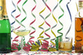 Alchohol and celebration Stock Images