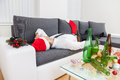 Alcohol abuse during holiday period can hurt Stock Photography
