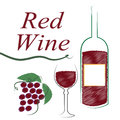 Alcohol burgandy means alcoholic drink and booze wine red indicating Royalty Free Stock Photo