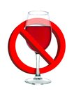 Alcohol is forbidden