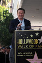 Alec baldwin los angeles feb at the walk of fame star ceremony for at beso resturant on february in los angeles ca Royalty Free Stock Photos
