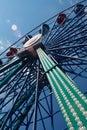 Alegría-rueda Imagen de archivo libre de regalías