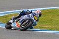 Aleix Espargaro pilot of MotoGP Stock Image