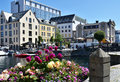 Alesund beautiful spot in norway Royalty Free Stock Images