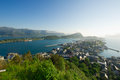 Alesund city Stock Images