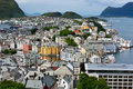 Alesund city. Norway. Stock Image