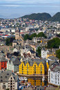 Alesund, Norway Royalty Free Stock Image