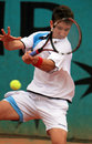 Alex Bogdanovic (GBR) at Roland Garros Royalty Free Stock Images