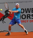Alex Bogomolov of Russia, Tennis  2012 Royalty Free Stock Images