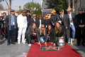Alex Orbison, Barbara Orbison, Chris Isaak, Dan Aykroyd, marcha lenta de Eric, Jeff Lynne, Joe Walsh, Phil Everly, Roy Orbison Fotos de archivo