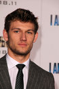 Alex pettyfer at the i am number four world premiere village theater westwood ca Stock Photography