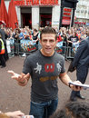 Alex Reid at A Team Premiere Stock Images