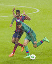 Alex Song in action Royalty Free Stock Photography