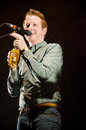 Alex Trimble, Two Door Cinema Club Stock Photography