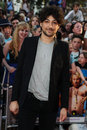 Alex zane zane arriving for the premiere of keith lemon the film at the vue cinema leicester square london picture by steve vas Stock Photography