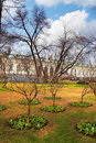 Alexander garden in Moscow. Royalty Free Stock Photos