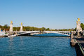 Alexander III Bridge, Paris Stock Image