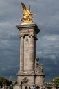 Alexander III Bridge Paris France Royalty Free Stock Photo