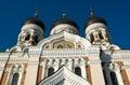 Alexander Nevsky Cathedral, Tallinn Royalty Free Stock Image