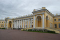 Alexander Palace in Tsarskoye Selo Stock Photo