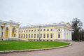 Alexander palace in tsarskoye selo view of the st petersburg russia Stock Images