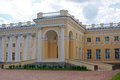 Alexander s palace the picture of the in pushkino Royalty Free Stock Photos