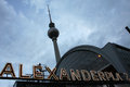 Alexanderplatz Royalty Free Stock Images
