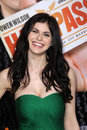 Alexandra daddario at the hall pass los angeles premiere cinerama dome hollywood ca Royalty Free Stock Photography