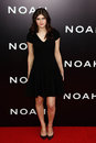 Alexandra daddario new york mar actress attends the premiere of noah at the ziegfeld theatre on march in new york city Royalty Free Stock Photography