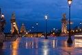 Alexandre III Bridge, Paris, France Royalty Free Stock Photo