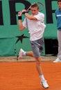 Alexandre SIDORENKO (FRA) em Roland Garros 2009 Foto de Stock