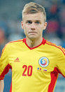 Alexandru maxim romania s pictured before the international friendly match between romania and slovakia held on national arena Stock Photography