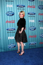 Alexis grace arriving at the american idol top party at area in los angeles ca on march Royalty Free Stock Photography