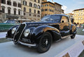 Alfa romeo c italian car old timer from car show in florence italy Stock Photo