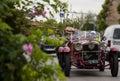 Alfa romeo c mms mille miglia italy history vintage car retro Royalty Free Stock Photos