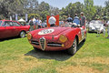 Alfa romeo giuliana this veloce was driven in road races in europe during the late s and early s Royalty Free Stock Images