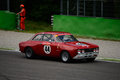Alfa romeo gt veloce at monza classic racing circuit in occasion of the intereuropean historic cup event Stock Images