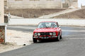 Alfa Romeo GTV during Rally Sprint Royalty Free Stock Photography
