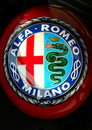 Alfa Romeo Helmet Royalty Free Stock Images