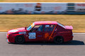 Alfa romeo race car photographed during histocup event at slovakia ring on august Stock Images