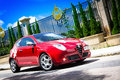 Alfa romero mito in hong kong Stock Photo
