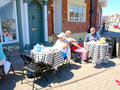 Alfresco weymouth dorset Foto de Stock
