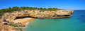 Algarve beach Stock Image