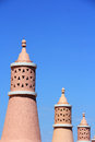 Algarve chimneys Royalty Free Stock Photo