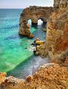 Algarve Portugal, Coast Beach Royalty Free Stock Photo