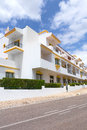 Algarve villas and apartments modern in portugal europe Stock Photos