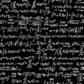 Algebra blackboard Royalty Free Stock Photography