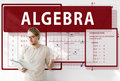 Algebra Mathematics Calculation Chart Concept Royalty Free Stock Photo