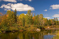 Algonquin Park Autumn Royalty Free Stock Photos