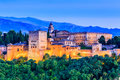 Alhambra, Granada, Spain. Royalty Free Stock Photo